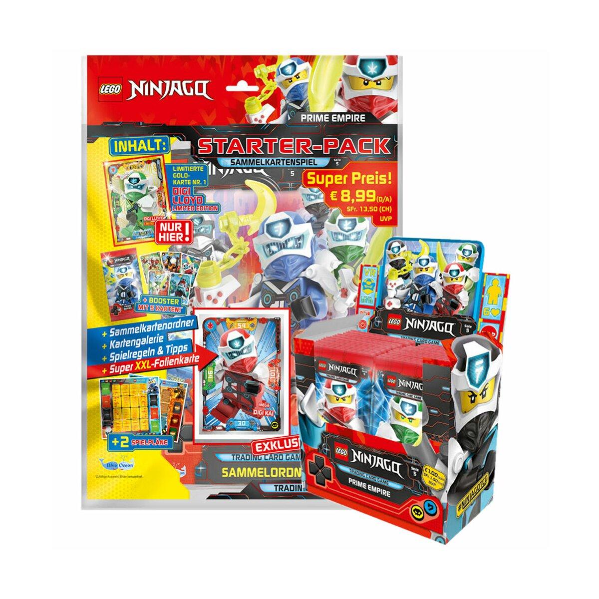 Serie 5 Starterpack LEGO NINJAGO TCG 5 Booster Sammelmappe 2020