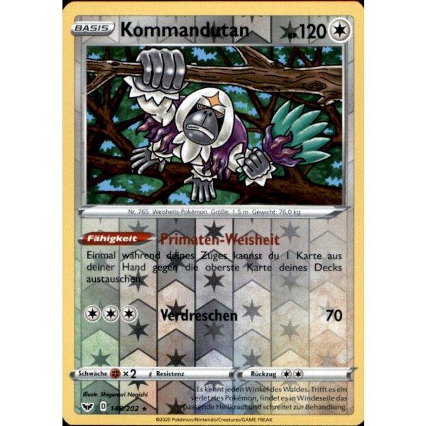 152//202 Wolly Reverse Holo Schwert /& Schild 1 Pokemon