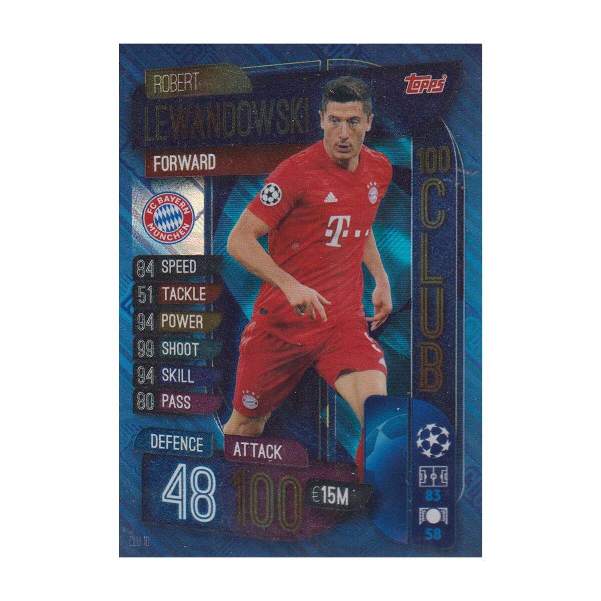 Champions League extra 19//20 2019 2020-clu10-Robert Lewandowski-club 100