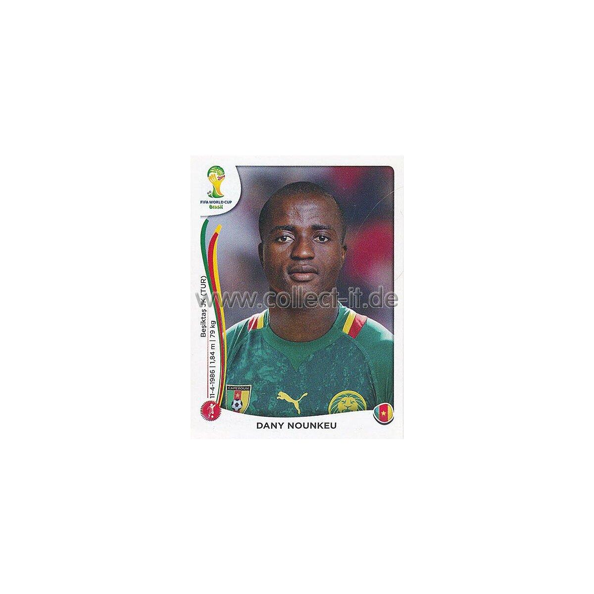 Panini 89 Logo Emblem Cameroun Kamerun FIFA WM 2014 Brasilien