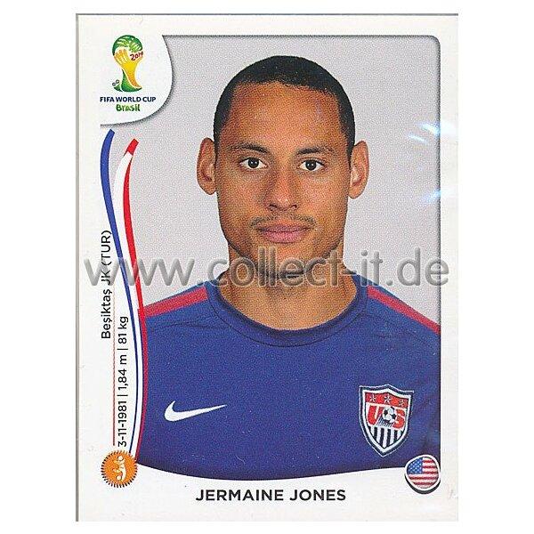 Sticker 554 Panini WM Worldcup 2014 Jermaine Jones