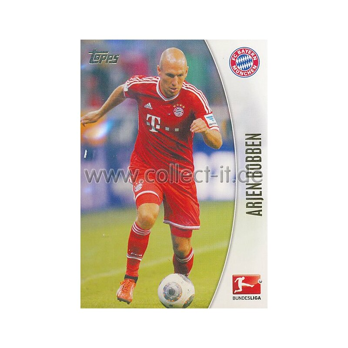 Club-Karte Topps Bundesliga Chrome 13//14-216 Hertha BSC