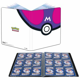 Pokemon Master Ball 2021  -  9-Pocket Album