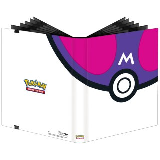 Pokemon Master Ball 2021  -  9-Pocket PRO-Binder