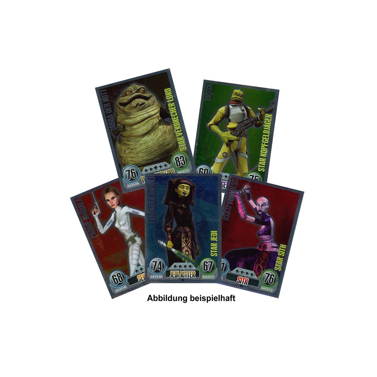 Star Wars Force Attax Sammelkarten