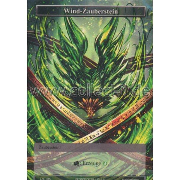 Force of Will Verlorenes Vermächtnis LEL-105 Wind-Zauberstein Holo