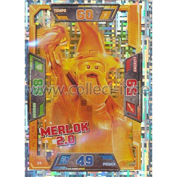 028 Merlok 20 Spezial Karte Lego Nexo Knights