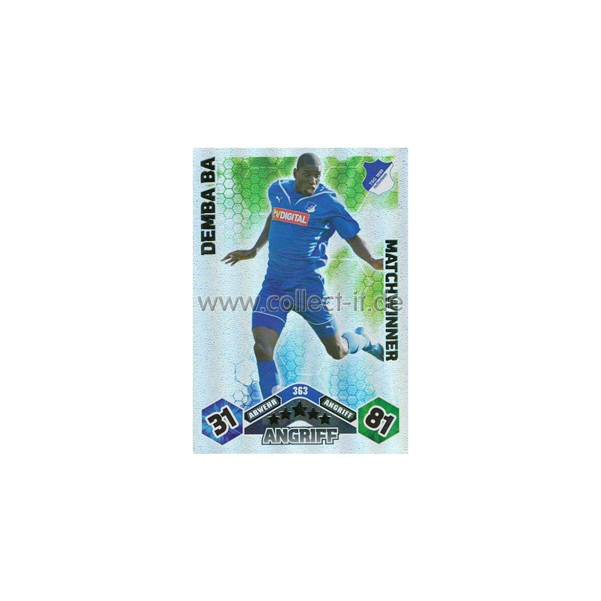 Match Attax 10//11-125-Demba Ba