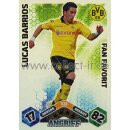 MX-S38 - LUCAS BARRIOS - Spezial Karte - Fan Favorit