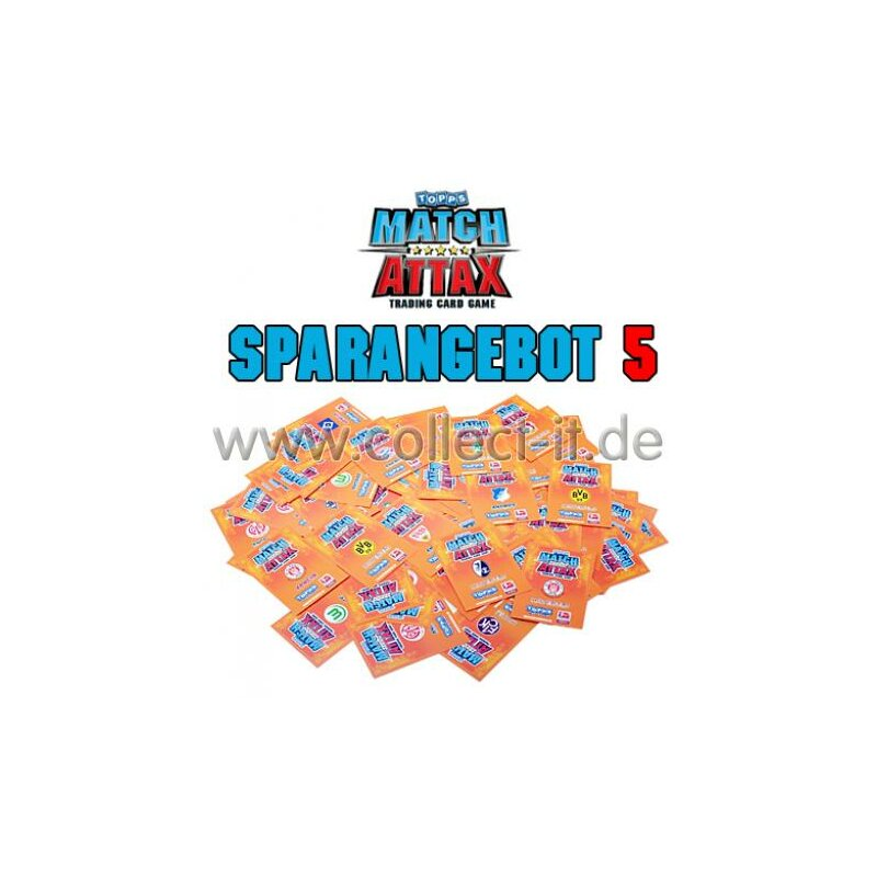 Match Attax - Spar 5 - Saison 10/11 - ALLE 288 Base-Karten
