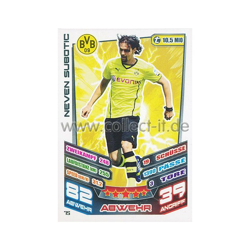 MX-075 - Neven Subotic - Saison 13/14