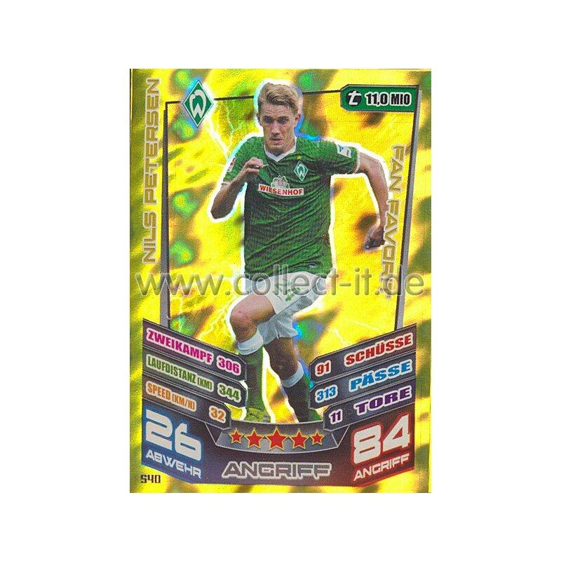 MX-540 - NILS PETERSEN - SV Werder Bremen - Fan Favorit