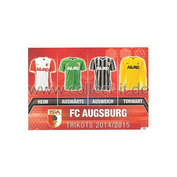 Trikotkarte Hertha BSC Spezial Karte T02 Match Attax 14//15