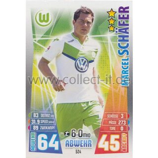 Melvyn Lorenzen Match Attax Extra 15//16 MX-466 Neue Transfers