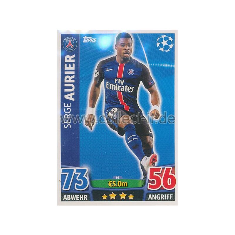 Serge Aurier Photos Et Images De Collection: Base Card, 0,49