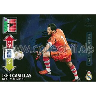 PAD-LE21 - Iker Casillas - Limited Edition