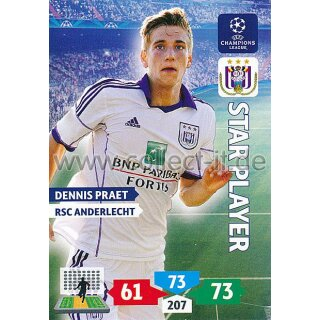 PAD-1314-043 - Dennis Praet - Star Player