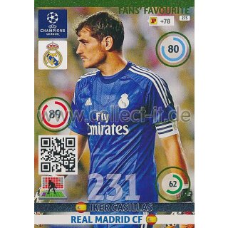 PAD-1415-275 - Iker Casillas - Fans Favourites