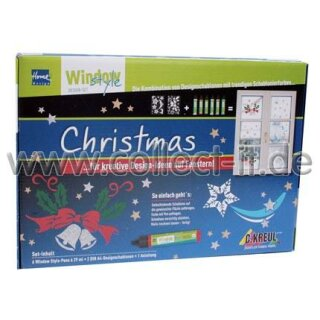 Home Design Window Style - Design Pen Set Christmas