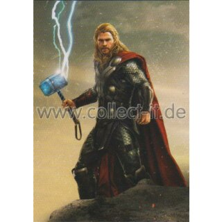 Marvel Heroes Trading Card Nr.58 - Thor
