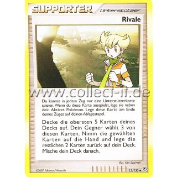 Professor Eibe Reverse Holo Deutsch Pokemon Diamant /& Perl 112//130