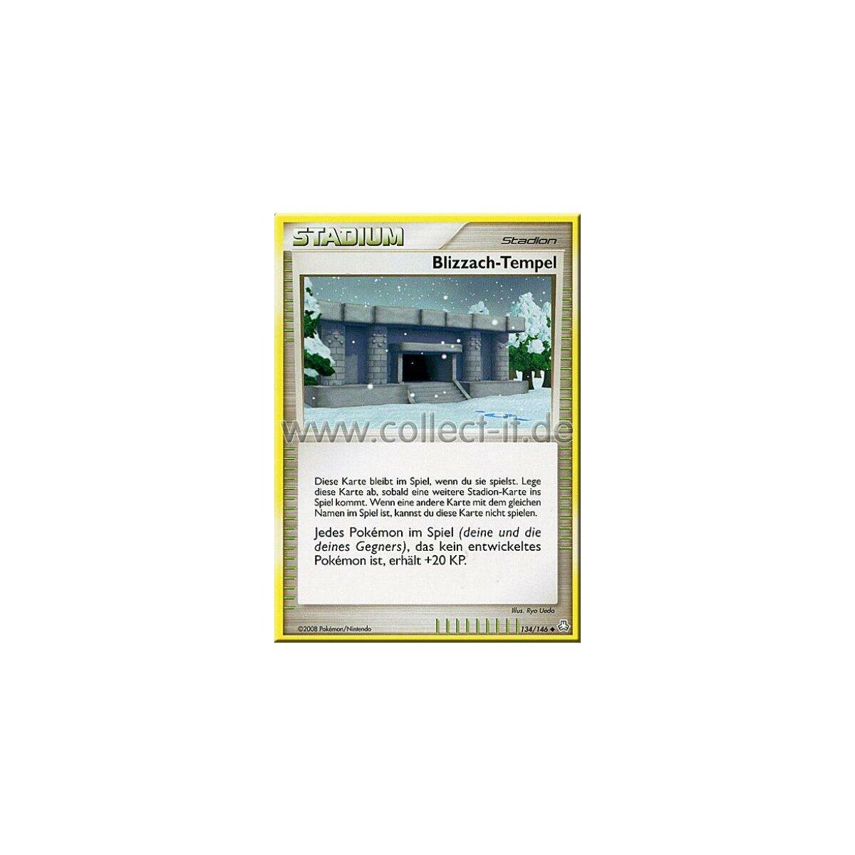 Pokemon Erwachte Legenden 134//146 Blizzach-Tempel Reverse Holo Deutsch