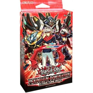 Yu-Gi-Oh - Pendulum Domination - 1 Structure Decks - Deutsch