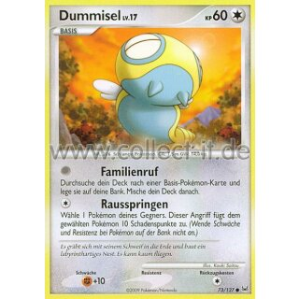 Eneco Pokemon Platin 93//127 Reverse Holo Deutsch