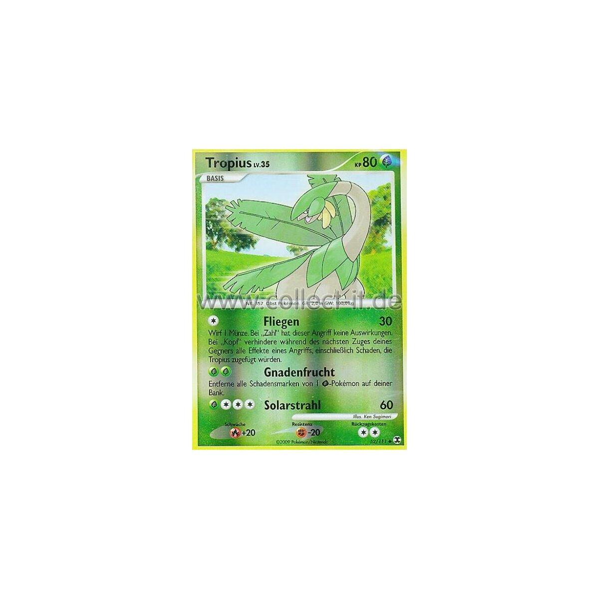 Pokemon Platin 52//127 Reverse Holo Deutsch Lombrero