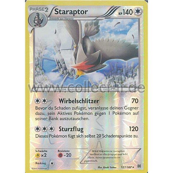 Pokemon XY Turbostart 127//162 Staraptor Deutsch