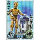FA183 - R2-D2 & C-3PO - Droide - Force Meister - SERIE 1...