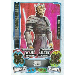 FA4-235 - SAVAGE OPRESS - Sith - Separatist - Force Meister - Serie 4