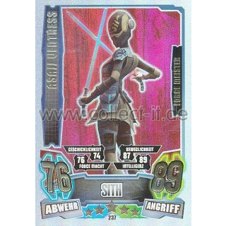FA4-237 - ASAJJ VENTRESS - Sith - Separatist - Force Meister - Serie 4