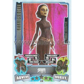 FA4-238 - BARRISS OFFEE - Sith - Separatist - Force Meister - Serie 4