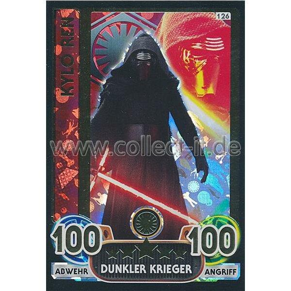 Star Wars Karte.Famov4 Extra 126 Kylo Ren Erste Ordnung Holo Karte