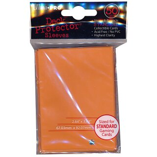 Ultra Pro - Deck Protector Sleeves - orange