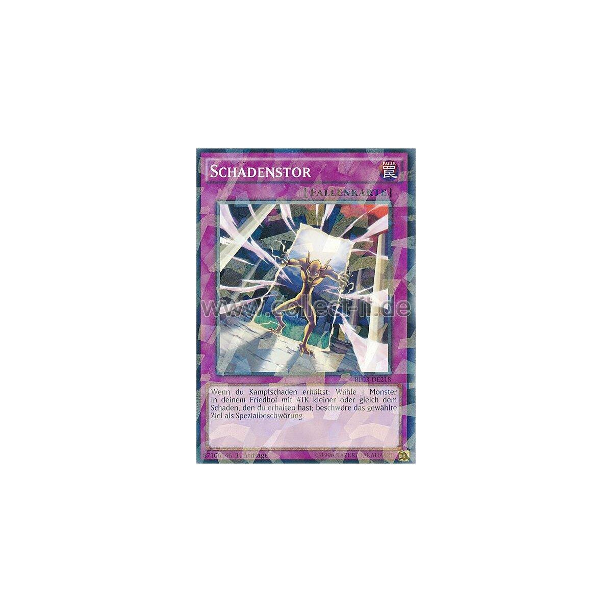 kaartspellen Yu-Gi-Oh! Intrigenschild BP03-DE231 1 Auflage